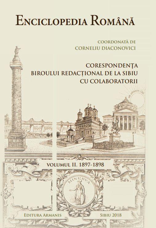 Enciclopedia Română coordonată de Coorneliu Diaconovici